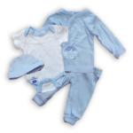 4-delig babypakket blauw