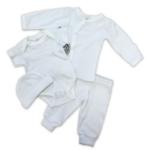 4-delig babypakket wit