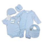 5-delig babypakket blauw