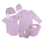 5-delig babypakket roze