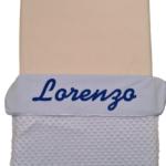 Babyblauw - bolletjes - Lorenzo