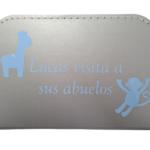 Koffer Lucas - zilver