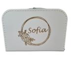 Koffer Sofia - wit