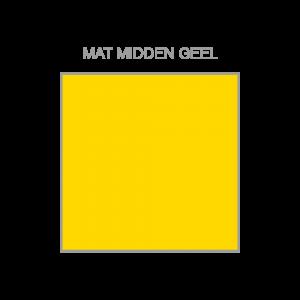 Midden geel