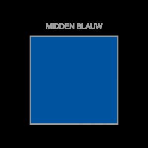 Middenblauw