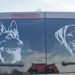 Sticker DH & hond
