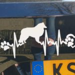 Sticker Sheltie heartrate 2